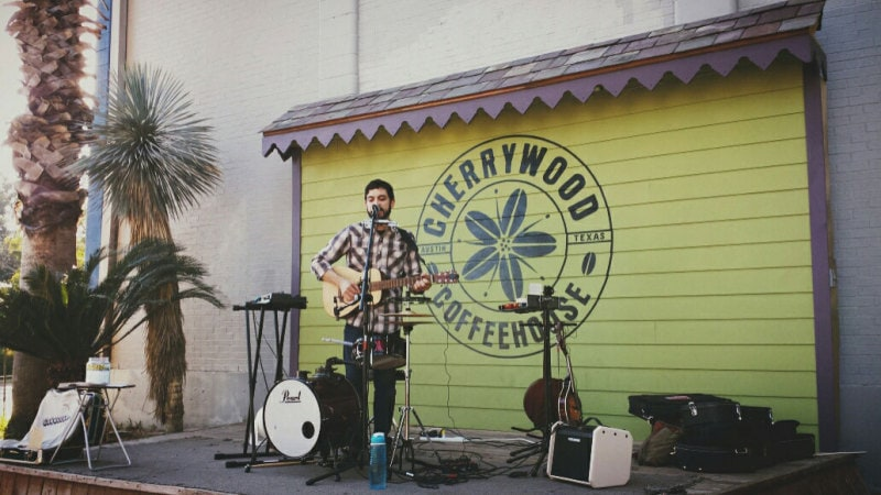 rushmore beekeepers - live music at Cherrywood Coffeehouse in Austin, TX